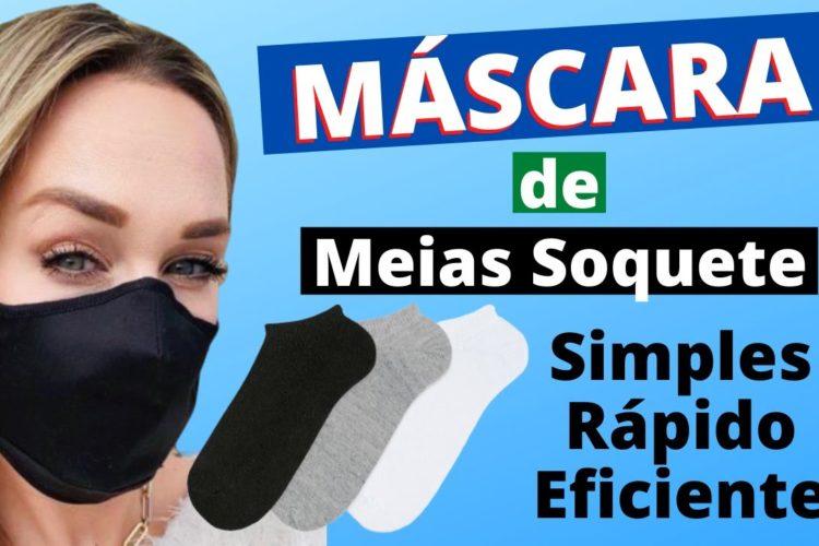Mascara de proteção de Meia