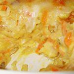 Receita de Bacalhau com Cenoura gratinado