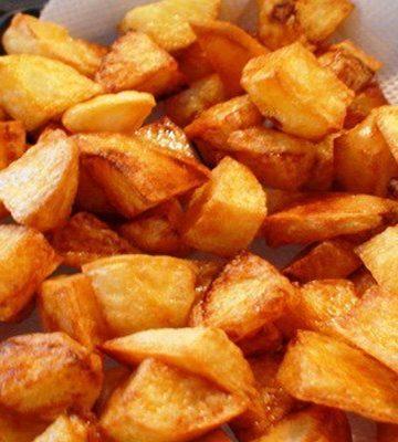 Receita de Batata frita na panela de pressão