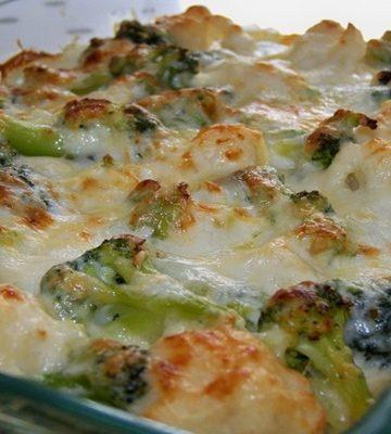 Receita de Batata gratinada com brócolis