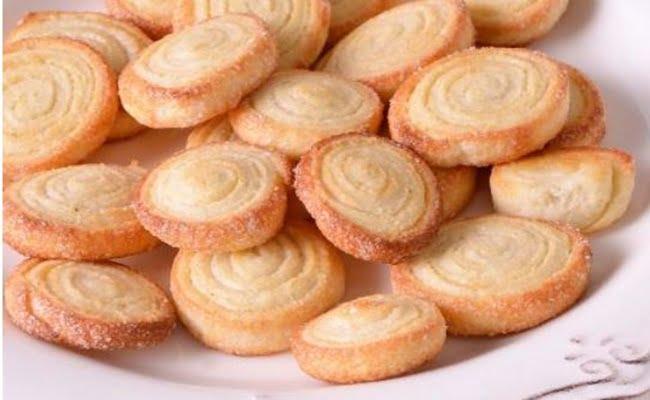 Receita de Biscoitos caseiros crocantes