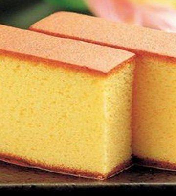 Bolo Kasutera pão de ló Japonês