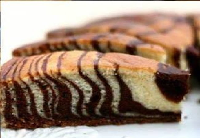 Receita de Bolo Zebra