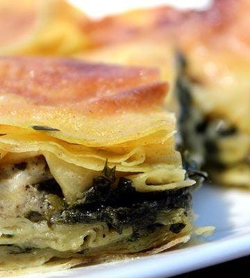 Receita de Börek turco