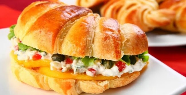 Receita de Croissant com Gorgonzola