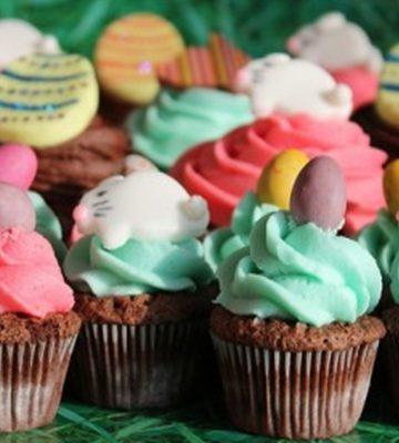 Receita de Cup cake Divertidos
