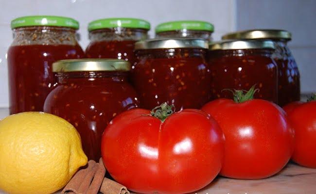 Receita de Doce de tomate