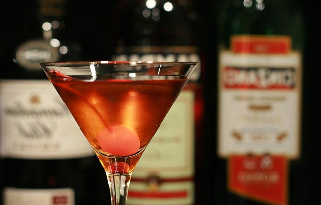 Receita de Manhattan Drink Cocktail