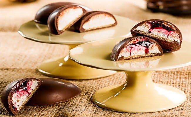 Receita de Mini Ovos de Marshmallow