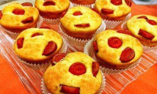 Receita de Muffin de Salsicha