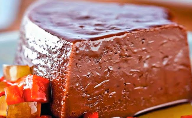 Receita de Pudim de Chocolate com Aveia