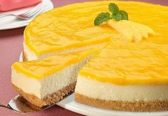 Receita de Torta Gelada de Manga