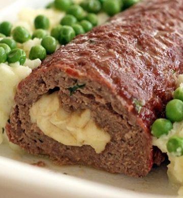 Receita de Rocambole de Carne Recheado de Provolone