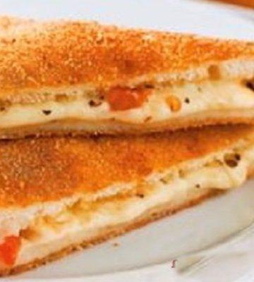 Receita de Sanduíche Frito