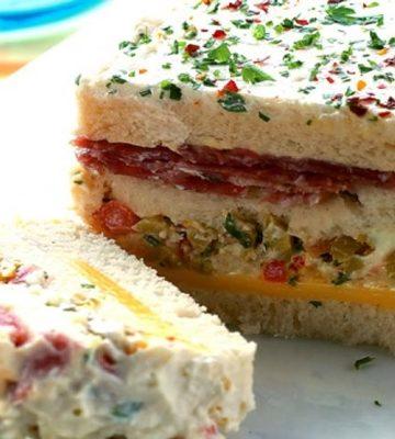 Receita de Sanduíche de Salame