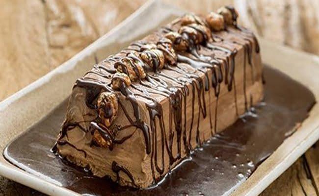 Semifreddo de chocolate
