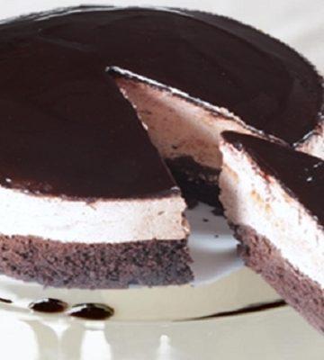 Receita de Semifrio de Chocolate Preto e Branco