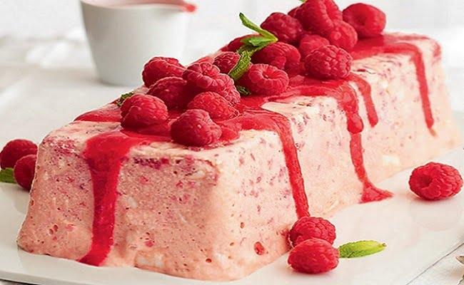 Receita de Semifrio de frutas silvestres