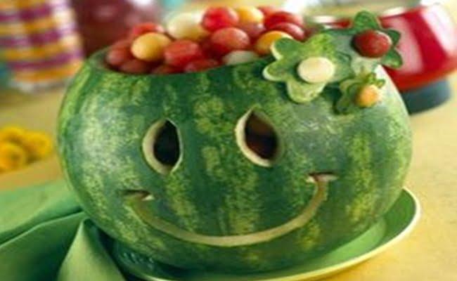 Sorriso de Melancia decoração