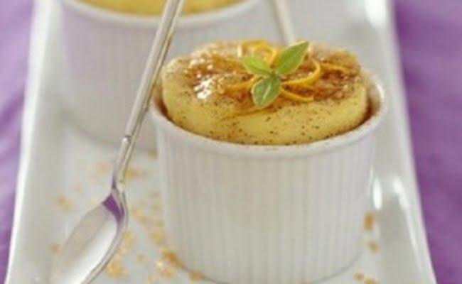 Receita de Soufflé Gelado de Limão