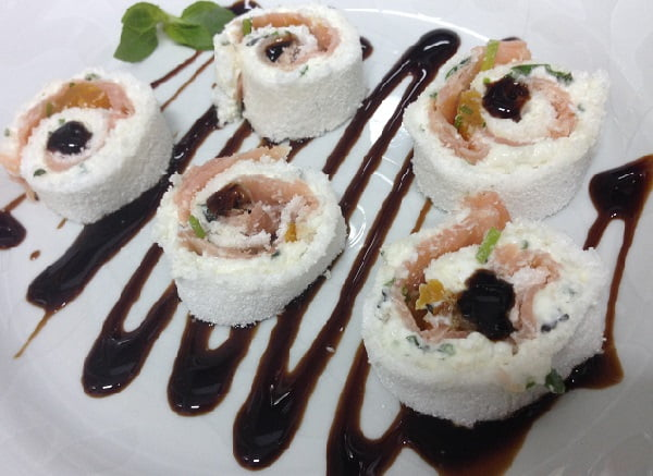 Receita de Sushi de Tapioca
