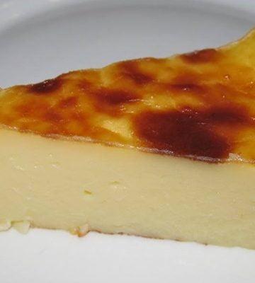 Receita de Torta Flan sem base