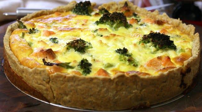 Receita de Torta de Brócolis com Ricota