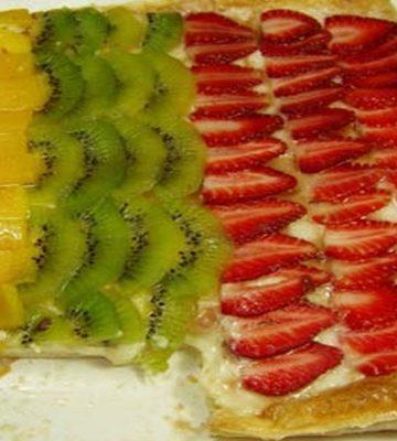 Receita de Torta de Frutas