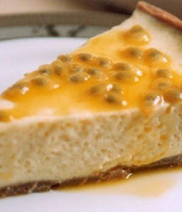 Receita de Torta de Maracujá sem Glúten