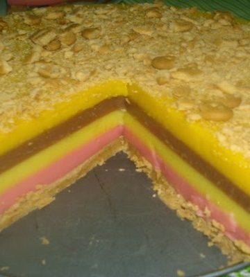 Torta de Pudins Boca Doce com Balacha Maria