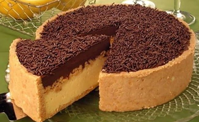 Receita de Torta de chocolate com maracujá