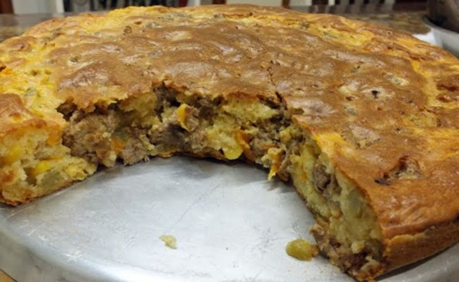 Receita de Torta sem Farinha de Liquidificador