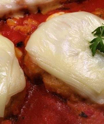 Receita de Hambúrguer de Forno à Parmegiana