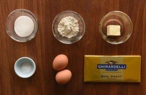 Bolo de Chocolate de Lava