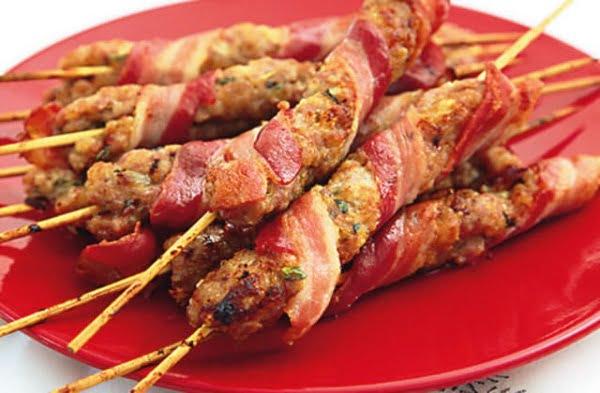 Receita de Cafta de Salsicha e Bacon