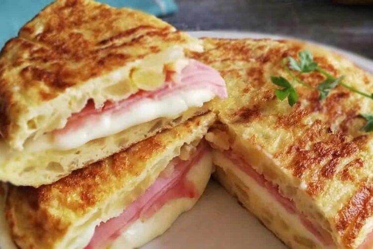 Receita de Omelete Especial com 3 ingredientes