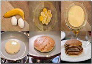 Passo a passo Panqueca doce sem Glúten e Lactose