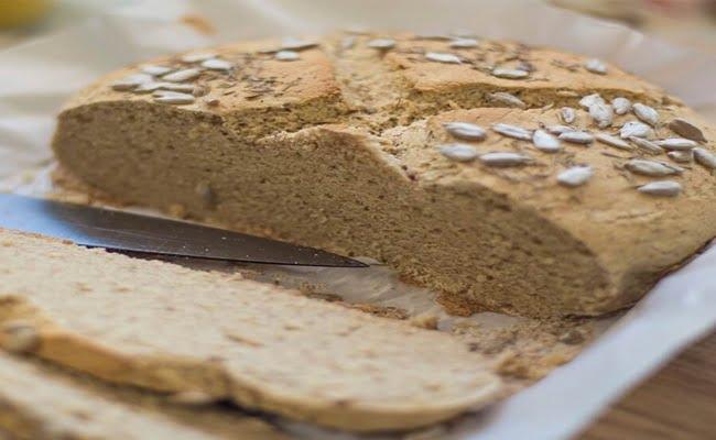 Receita de Pão sem Glúten