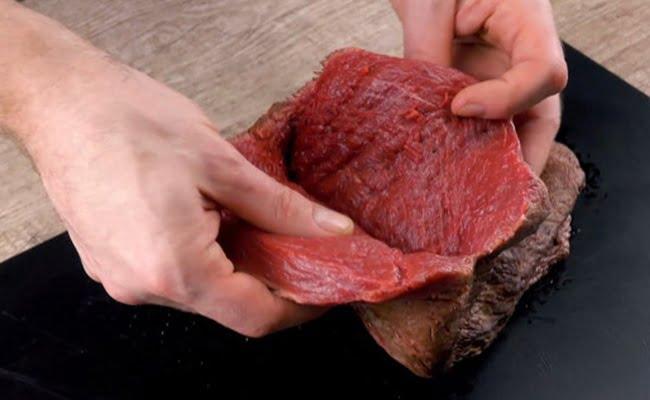 Picanha Recheada com bacon e muçarela