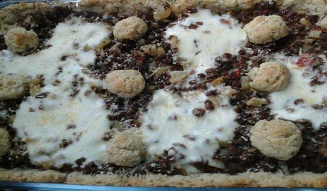 Você vai aprender como fazer Torta Vegetariana